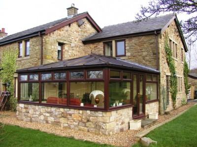 Edwardian style pvc conservatory