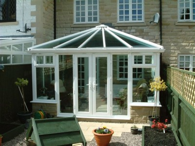 Small Edwardian designed conservatory