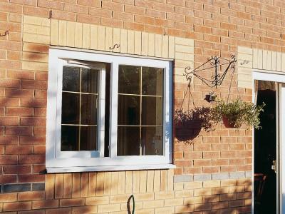 upvc windows in white tilt & turn windows
