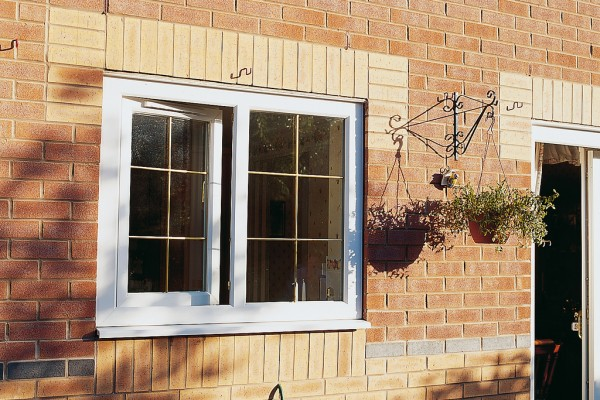 upvc white tilt & turn windows