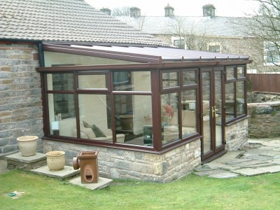 stone conservatory extension
