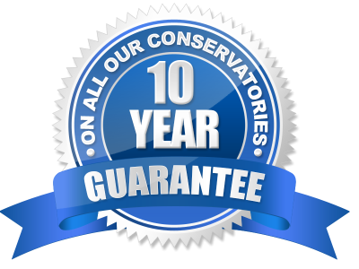 10 year guarantee on conservatories darwen