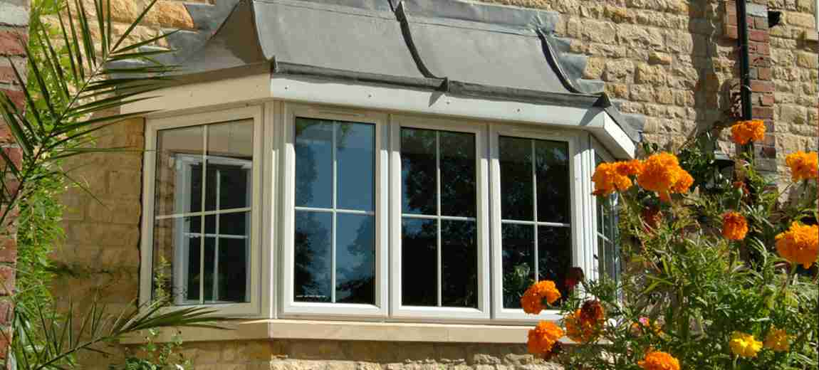 traditional style glazed windows