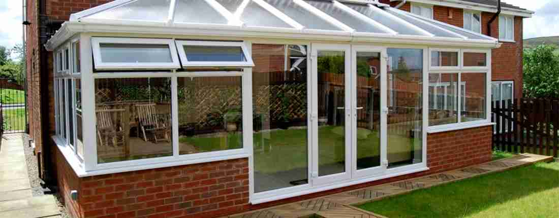 position conservatory in the sun