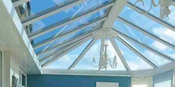 Smart Glass roof for your conservatory