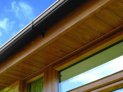 wood effect fascia and soffits